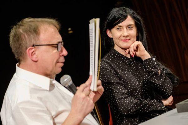 Małgorzata Lebda i Piotr Śliwiński, fot. Mariusz Forecki