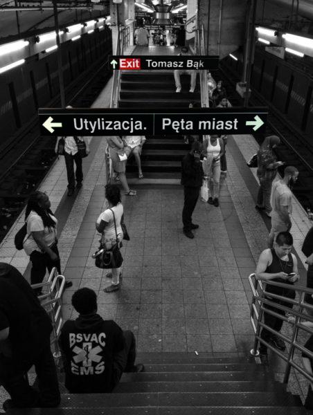 """Tomasz Bąk, """"Utylizacja. Pęta miast"""", Wydawnictwo WBPiCAK, Poznań 2018"""