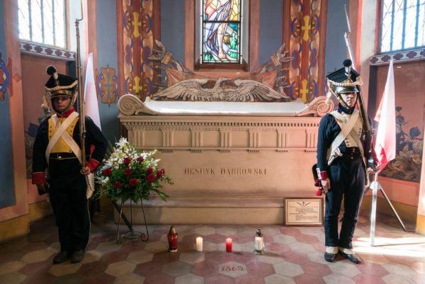 Grobowiec Jana Henryka Dąbrowskiego w kościele w Winnej Górze, fot. M. Forecki