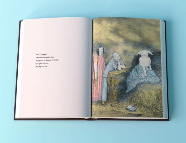"""Anna Höglund, """"O tym można rozmawiać tylko z królikami"""", przekład Katarzyna Skalska, Wydawnictwo Zakamarki 2018, s. 60."""