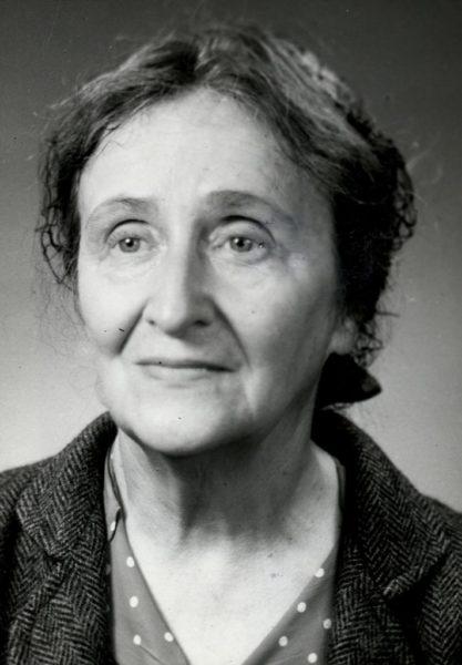 Kazimiera Iłłakowiczówna, ok. 1960 r., ze zbiorów Biblioteki Raczyńskich