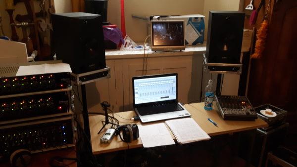 Podręczny zestaw nagraniowy, materiały RecArtu
