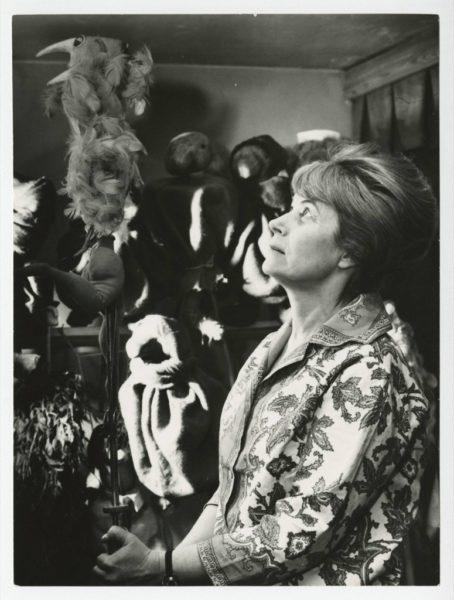 Leokadia Serafinowicz, fot. Grażyna Wyszomirska, archiwum Teatru Animacji w Poznaniu