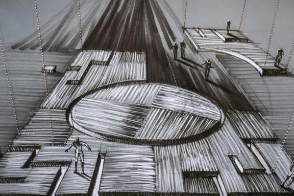 """""""Narracje"""", Bohdan Cieślak. Wystawa w Muzeum Narodowym w Poznaniu, fot. Mariusz Forecki"""