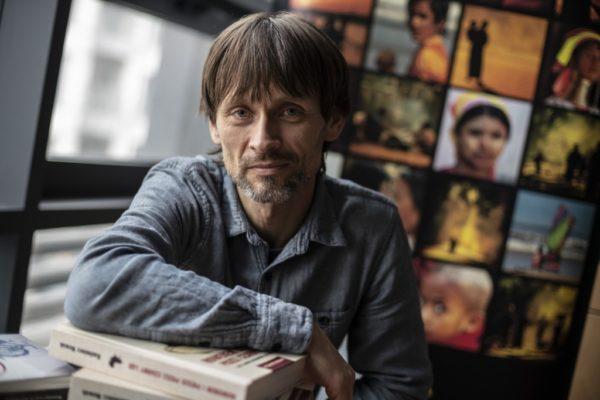 Dominik Szmajda, redaktor naczelny wydawnictwa Sorus