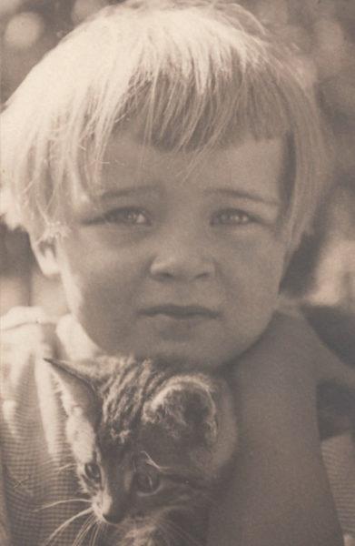 Krystyna Łuczkiewicz (Margonin, ok. 1935 roku), fot. S. Keller