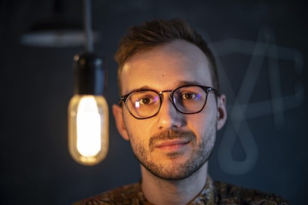 Mateusz Sulwiński z Grupy Stonewall, fot. Mariusz Forecki