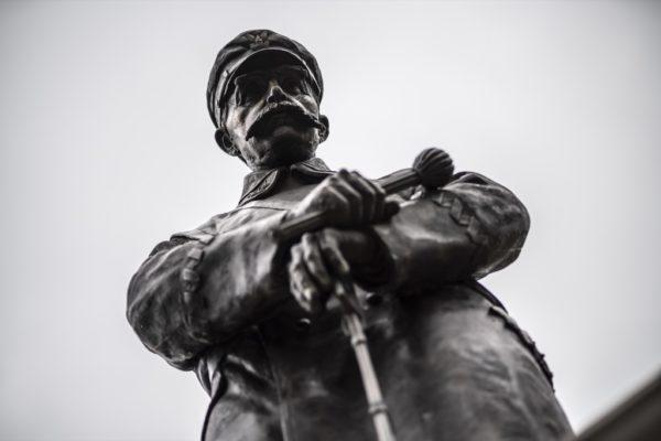 Pomnik marszałka Józefa Piłsudskiego w Kaliszu, fot. Mariusz Forecki