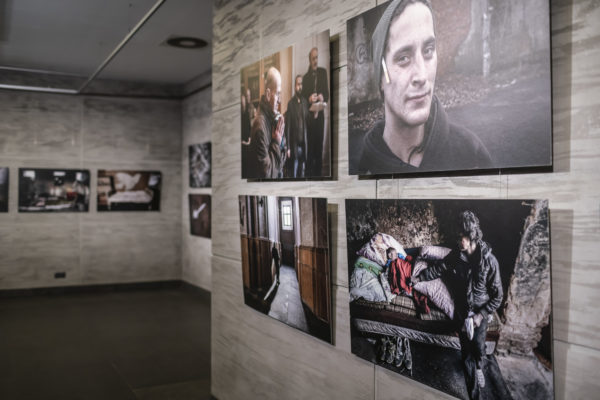 """Jindřich Štreit, wystawa z cyklu """"Czechosłowackie historie"""" w CK ZAMEK, fot. Mariusz Forecki"""