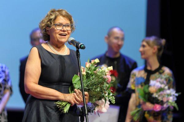Anna Bikont, Poznańska Nagroda Literacka 2018, fot. Maciej Kaczyński
