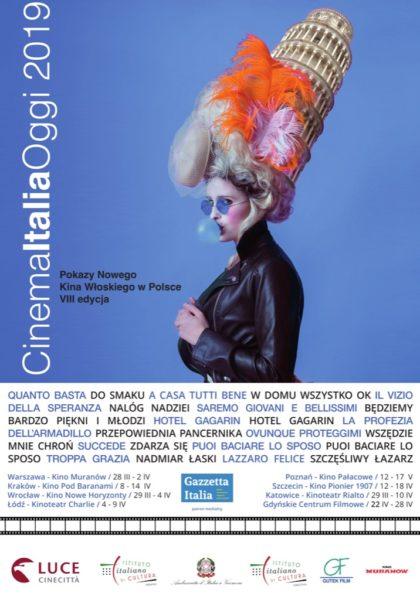 Plakat Cinema Italia Oggi 2019
