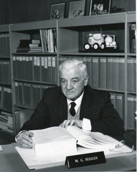 Mieczysław Grzegorz Bekker, źródło: Muzeum Politechniki Warszawskiej