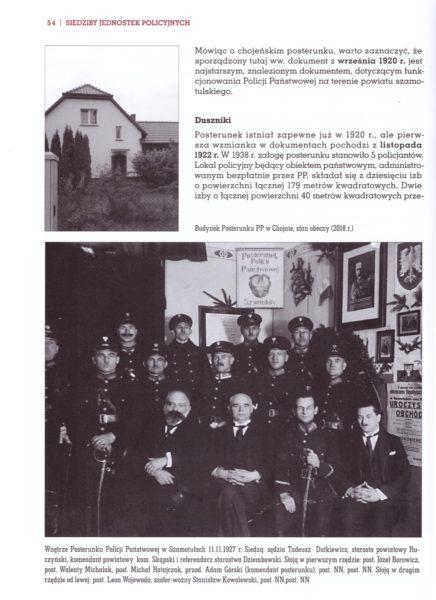 Granatowy porządek. Policja Państwowa w Powiecie Szamotulskim 1919–1939