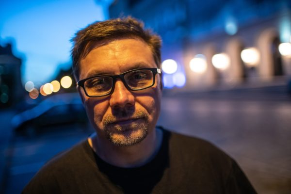 Leszek Koźmiński, pomysłodawca Festiwalu Kryminalna Piła, fot. Mariusz Forecki