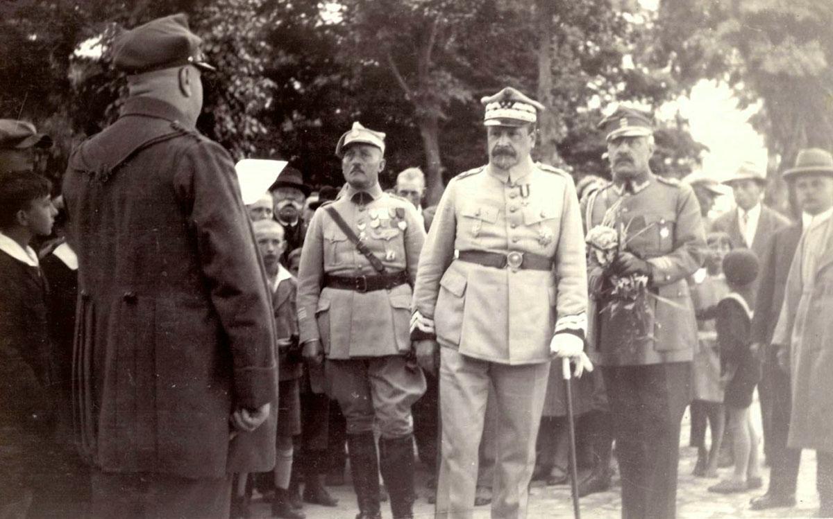 Generał Haller w Szamotułach