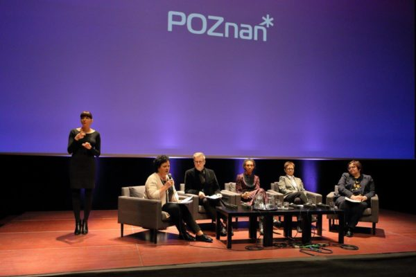 """Debata """"Język a wykluczenie"""", fot. M. Kaczyński, CK ZAMEK"""