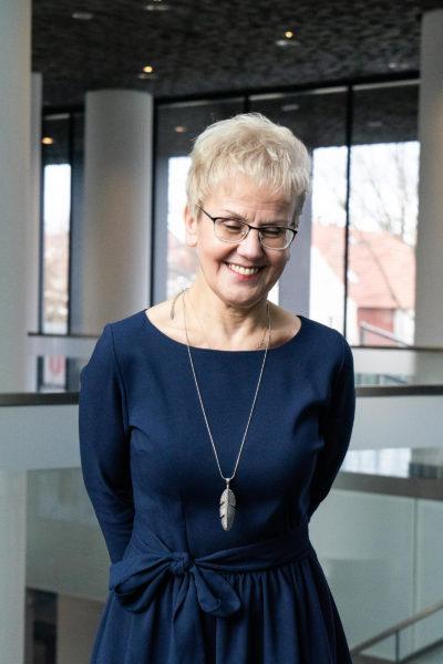 Barbara Matysek - Szopińska, dyrektor Domu Polskiego - Centrum Idei Rodła w Zakrzewie, fot. Mateusz Kiszka