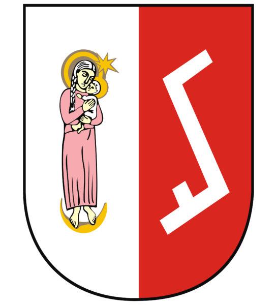 Herb Miasta i Gminy Zakrzewo, z archiwum Domu Polskiego w Zakrzewie