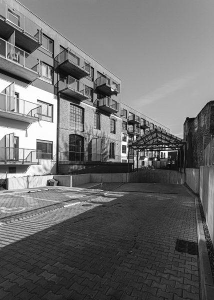 Dawne tereny Akwawitu Osiedle Manufaktura-Stare Miasto, ul. Bóżnicza 8, fot. fot. K. Szymkowiak