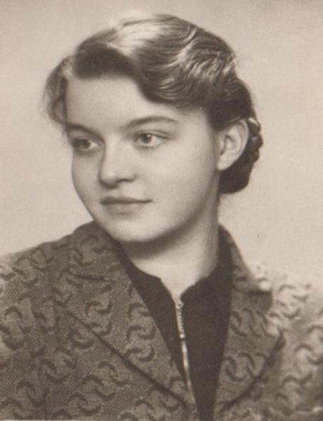 Krystyna, córka Ludwika Szydlarskiego, fot. z archiwum Muzeum Zamek Górków w Szamotułach