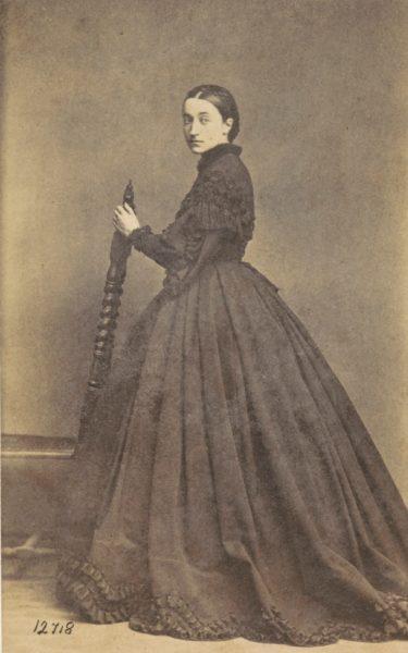 Portret Izabeli Działyńskiej z Czartoryskich, 1857, źródło: Polona