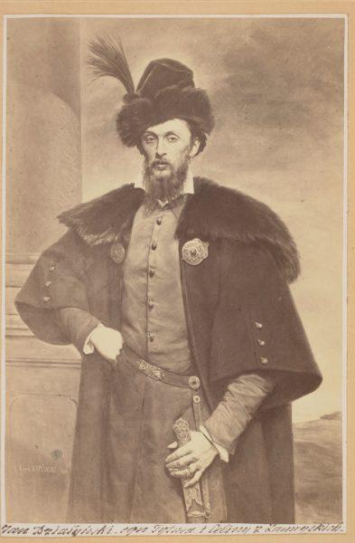 Portret Jana Kantego Działyńskiego (fot. obrazu Leona Kaplińskiego), 1864, źródło: Polona