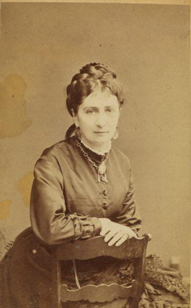 Portret Marii Kwileckiej z Mańkowskich, ok 1860-1869, źródło: Polona