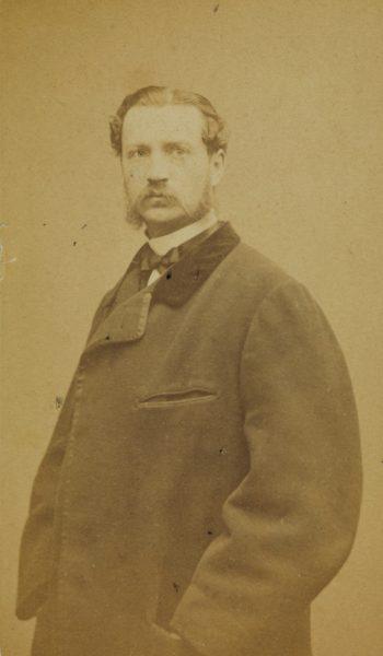 Portret Mieczysława Kwileckiego, ok 1863, źródło: Polona