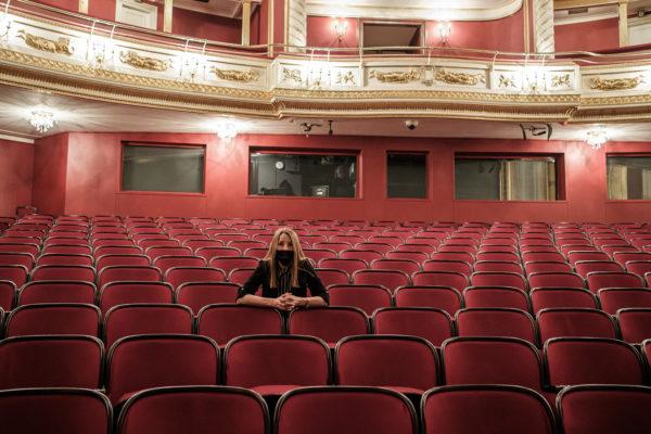 Renata Borowska-Juszczyńska - dyrektor Teatru Wielkiego im. St. Moniuszki w Poznaniu