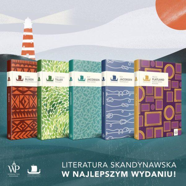 Książki z Serii Dzieł Pisarzy Skandynawskich, fot. Wydawnictwo Poznańskie