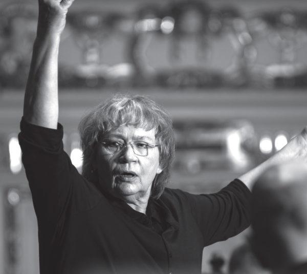 Agnieszka Duczmal, fot. Tak brzmi Wielkopolska. Regionalny nieoczywisty przewodnik muzyczny.