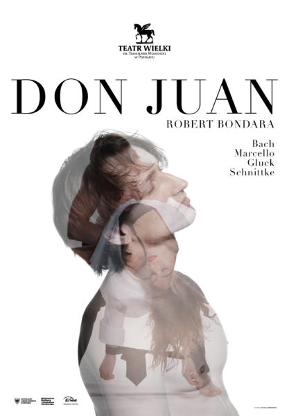 Don Juan - plakat, fot. Teatr Wielki w Poznaniu