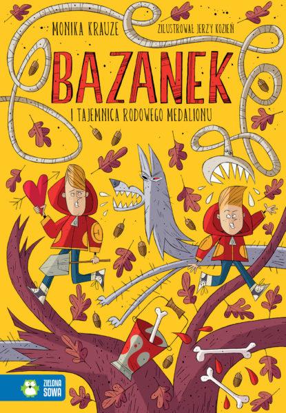 Monika Krauze - Bazanek i tajemnica rodowego medalionu, ilustracje Jerzy Kozień