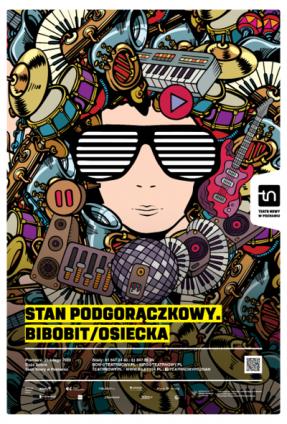 Plakat, fot. Teatr Nowy im. T. Łomnickiego w Poznaniu