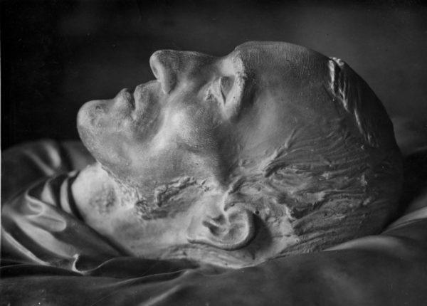 Maska pośmiertna Karola Marcinkowskiego, Wielkopolskie Muzeum Wojskowe, 1932