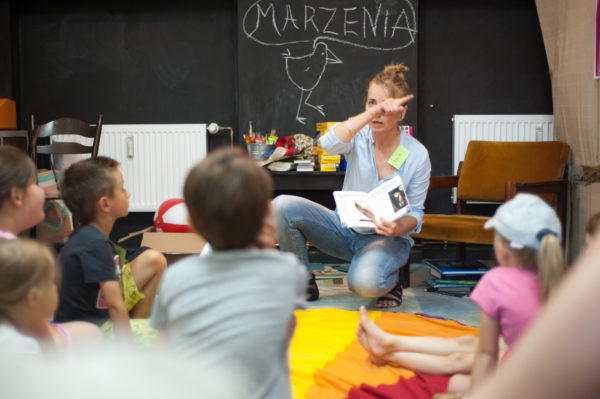 Zajęcia biblioterapii, fot. J. Kordus