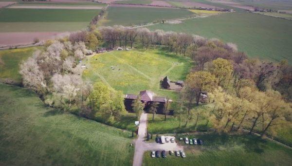 Rezerwat Archeologiczny w Grzybowie, fot. Muzeum Pierwszych Piastów na Lednicy