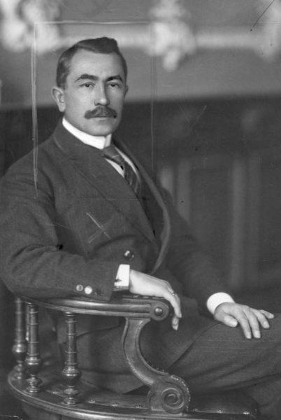 Mikołaj Kiedacz, fotografia portretowa, fot. Narodowe Archiwum Cyfrowe