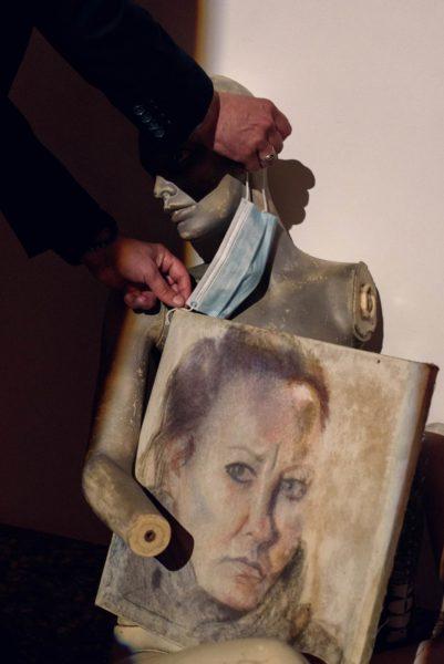 """Wystawa """"I was pretty"""" Ewy Gaj w konińskiej Galerii Wieża Ciśnień, fot. Joanna Graszk-Łojewska"""