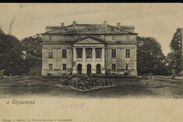 Pałac w Objezierzu około 1907 fot. L. Durczykiewicz, Polona (2)