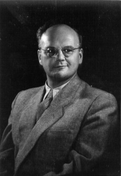 Stanisław Hejmowski, koniec lat 40., fotografia ze zbiorów Zbigniewa Standara