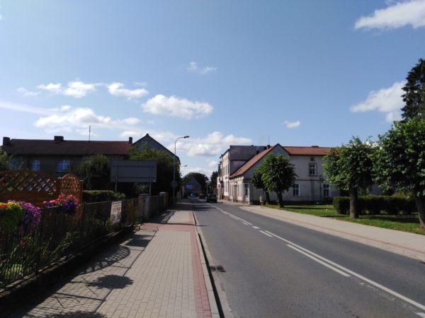 ulica Sprzymierzeńców współcześnie, 2019 r., fot. Julia Sienkiewicz Wilowska