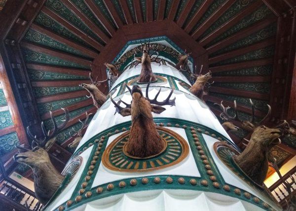 Wnętrze antonińskiego pałacu, fot. Olga Urban