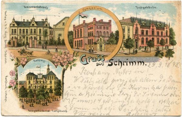 Najstarsza pocztówka w muzealnej kolekcji, fot. Muzeum Śremskie