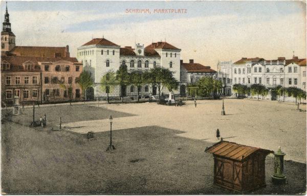 Panorama Rynku, fot. Muzeum Śremskie