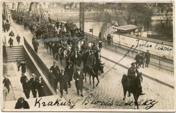 Pocztówka od Daniela Kęszyckiego ze zdjęciem Krakusów Błociszewskich, fot. Muzeum Śremskie