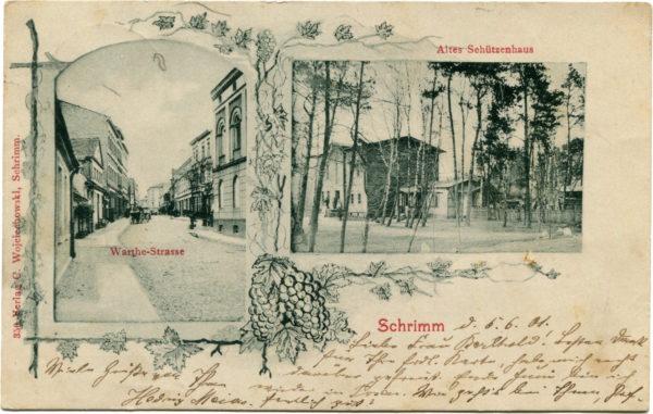 Pocztówka z 1901 r., fot. Muzeum Śremskie