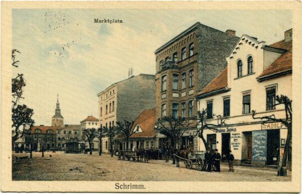 Rynek i kamienica pod Złotą Kulą, fot. Muzeum Śremskie