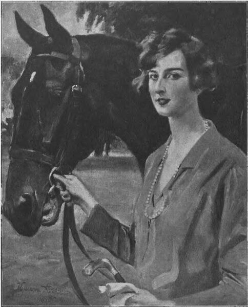 Kossak, Portet Hrabiny Jerzowej Mielżyńskiej, Tygodnik Illustrowany 1926.12.11 Nr 50