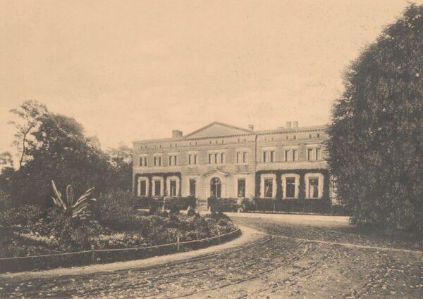 Pałac Kwileckich w Kwilczu, L. Durczykiewicz, Dwory polskie w Wielkiem Księstwie Poznańskiem, fot. Polona